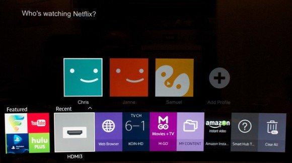 SmartTV Overlay on Netflix