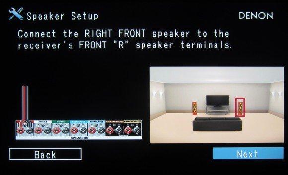 Denon S710W Setup Screens - 3
